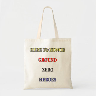 """TASTEFUL 9/11 COMMEMORATIVE-PRODUCTS."" CANVAS BAGS"