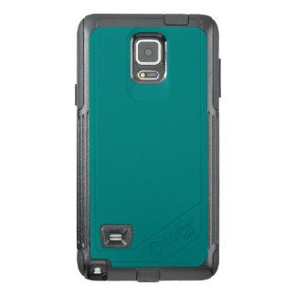 Tastefully Sophisticated Teal Color OtterBox Samsung Note 4 Case