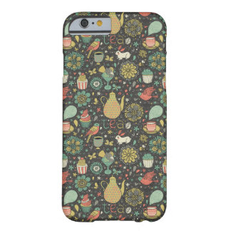 Tasty bright Tea Card Barely There iPhone 6 Case