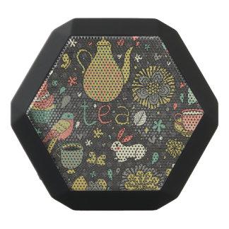 Tasty bright Tea Card Black Bluetooth Speaker
