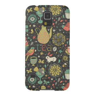 Tasty bright Tea Card Galaxy S5 Cases