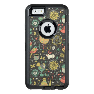 Tasty bright Tea Card OtterBox iPhone 6/6s Case