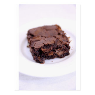 Tasty Brownie Postcard