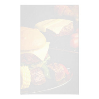 Tasty Burgers and kebabs for food lovers Stationery