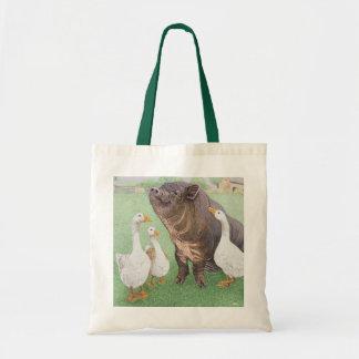 Tasty Morsel Budget Tote Bag