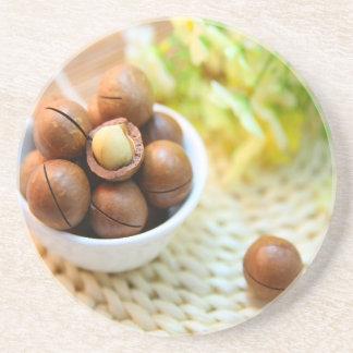 Tasty nuts Photo Coaster