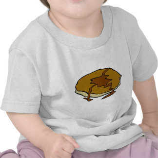 Tasty pancake with syrup t-shirt