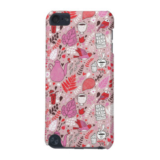 Tasty pattern with birds and flowers iPod touch (5th generation) covers