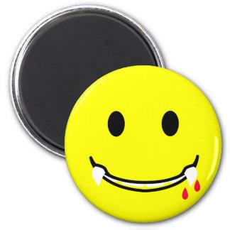 'tasty '     SMILEY FACE MAGNET