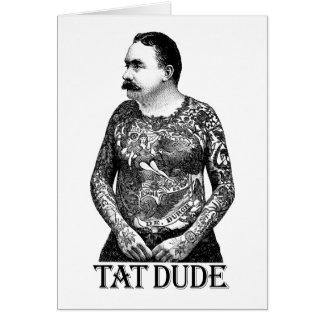 Tat Dude Cards