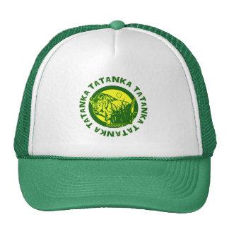 Tatanka (Buffalo) Green & Yellow Cap