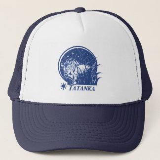 Tatanka Stars-American Buffalo/Bison Blue Trucker Hat
