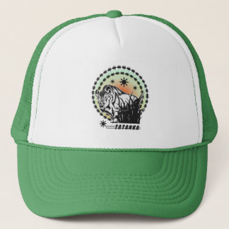 Tatanka Sunset-American Buffalo/Bison Trucker Hat