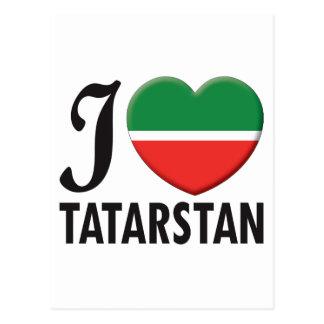 Tatarstan Love Postcard