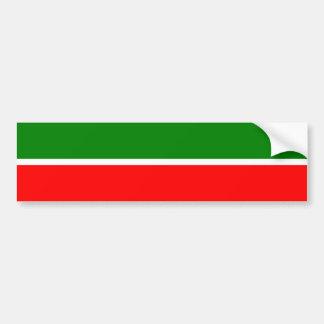 Tatarstan, Russia flag Bumper Sticker