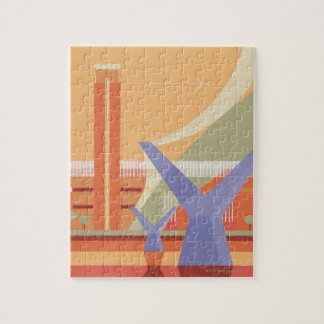 Tate Gallery and Millennium Bridge Jigsaw Puzzle