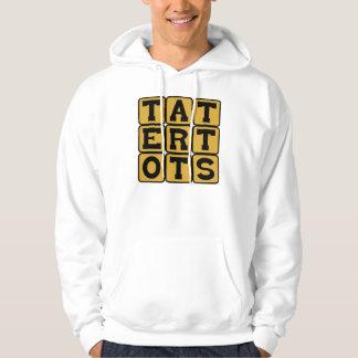 Tater Tots, Fried Potato Breakfast Treat Hooded Pullovers