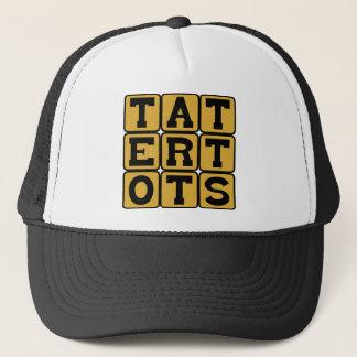 Tater Tots, Fried Potato Breakfast Treat Trucker Hat