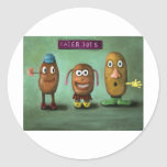 Tater Tots Round Stickers