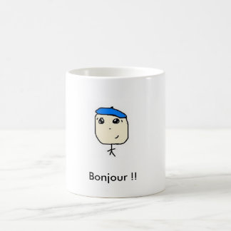 tato fr, Bonjour !! Coffee Mug