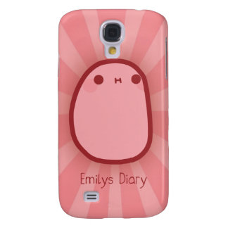 Tato Pink Samsung Galaxy S4 Cover