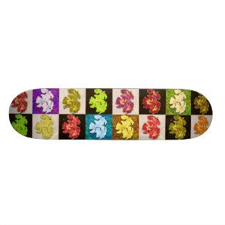 Tatoo Mandala Hibiscus Skateboard