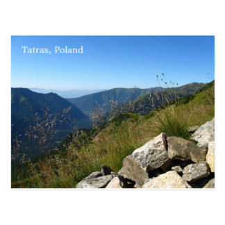 Tatras Poland Postcard
