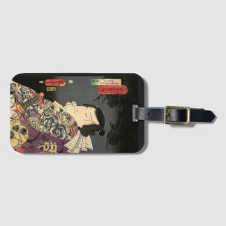 """Tatted Samurai"" Luggage Tag"