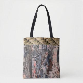Tatter Chic Tote Bag