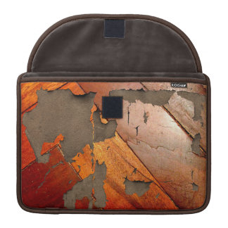 Tattered Wood Panel Look Sleeve For MacBook Pro