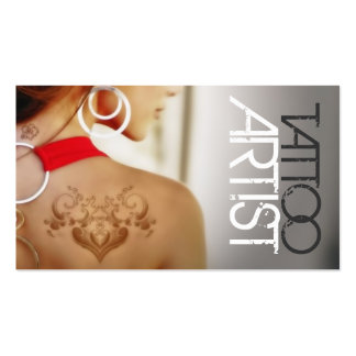 Tattoo Artist, Business Card