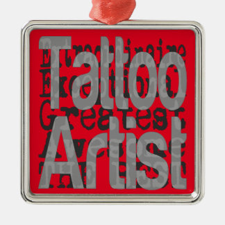Tattoo Artist Extraordinaire Christmas Ornament
