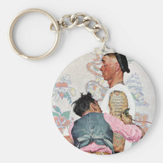 Tattoo Artist Key Ring