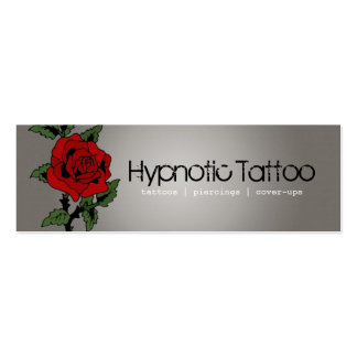 Tattoo Artist Pack Of Skinny Business Cards