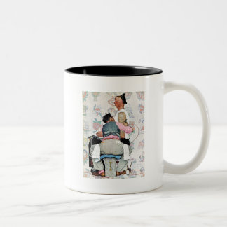 Tattoo Artist Two-Tone Coffee Mug