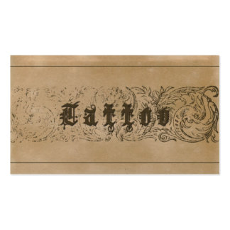 TATTOO - Business Card