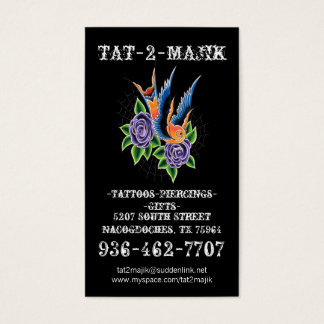 Tattoo Business Card