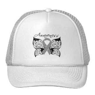 Tattoo Butterfly Awareness - Brain Tumor Cap