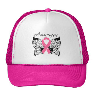 Tattoo Butterfly Awareness - Breast Cancer Cap