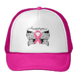 Tattoo Butterfly Awareness - Breast Cancer Mesh Hats