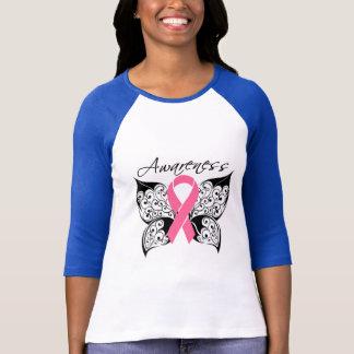 Tattoo Butterfly Awareness - Breast Cancer T-Shirt
