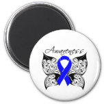 Tattoo Butterfly Awareness - Colon Cancer