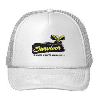 Tattoo Butterfly Bladder Cancer Survivor Trucker Hat