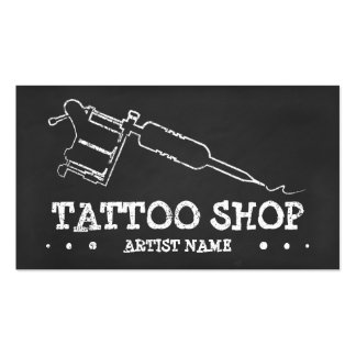 TATTOO CHALK Double-Sided STANDARD BUSINESS CARDS (Pack OF 100)