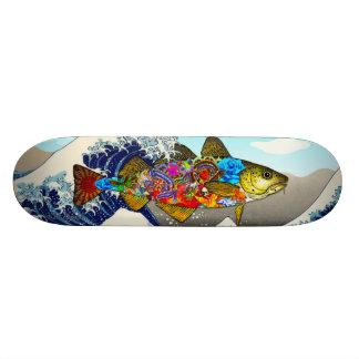 Tattoo Codboard Skate Board