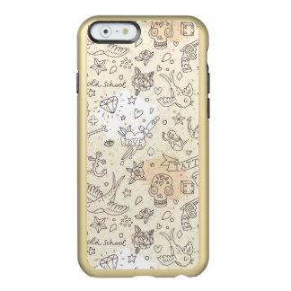 Tattoo concept pattern incipio feather® shine iPhone 6 case