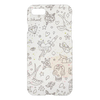 Tattoo concept pattern iPhone 8/7 case