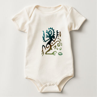 Tattoo Dragon Baby Bodysuit