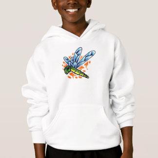 Tattoo Dragonfly Hooded Sweatshirt