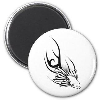 Tattoo Fish Magnet